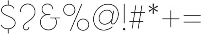 Omega Sans ttf (300) Font OTHER CHARS