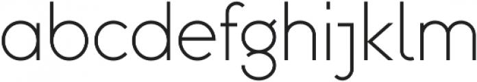 Omega Sans ttf (400) Font LOWERCASE