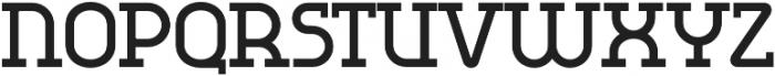 Omni Serif Bold otf (700) Font UPPERCASE