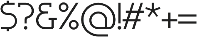 Omni Serif Light otf (300) Font OTHER CHARS
