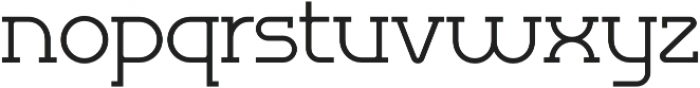Omni Serif Light otf (300) Font LOWERCASE