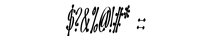 OMEGA Old Face Font OTHER CHARS