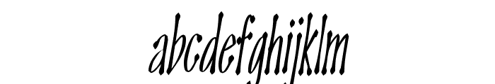 OMEGA Old Face Font LOWERCASE
