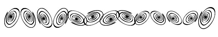 OMEGASwirls Font LOWERCASE