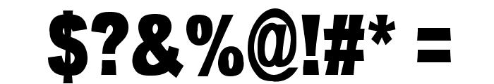 OMNIBLACK Font OTHER CHARS
