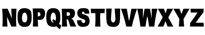 OMNIBLACK Font UPPERCASE