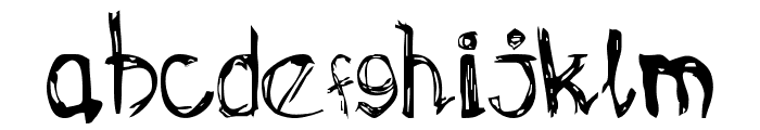 OMONG-KOSONG Font LOWERCASE