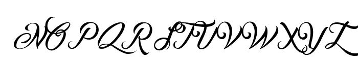 Ombeline Ludolphides Font UPPERCASE