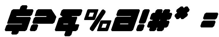 Omega-3 Italic Font OTHER CHARS