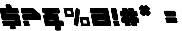 Omega-3 Leftalic Font OTHER CHARS