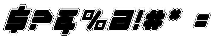 Omega-3 Pro Italic Font OTHER CHARS