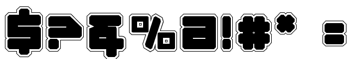 Omega-3 Pro Font OTHER CHARS