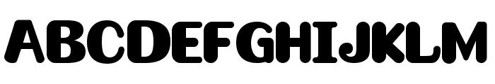 Omelette Font UPPERCASE