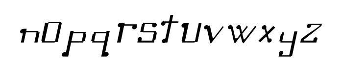 Omellons LightItalic Font LOWERCASE