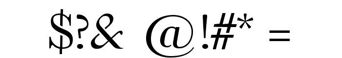 Omologo Personal Font OTHER CHARS