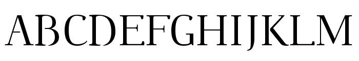 Omologo Personal Font UPPERCASE