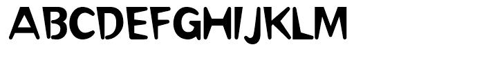 Omaha Regular Font UPPERCASE