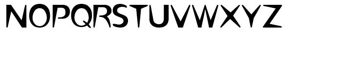 Omaha Thin Font UPPERCASE
