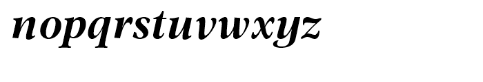 Omnibus Bold Italic Font LOWERCASE