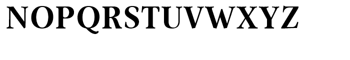 Omnibus Bold Font UPPERCASE