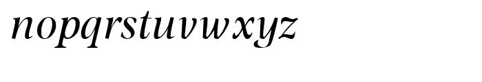 Omnibus Italic Font LOWERCASE