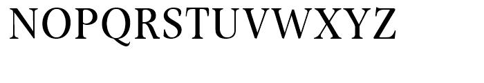 Omnibus Roman Font UPPERCASE