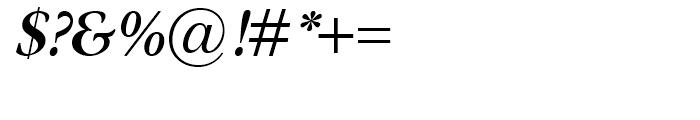 Omnibus Semi Bold Italic Font OTHER CHARS