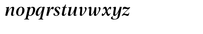 Omnibus Semi Bold Italic Font LOWERCASE