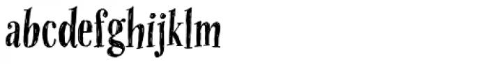 OMORIKA Font LOWERCASE