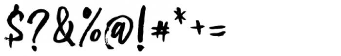 Omarbig Regular Font OTHER CHARS