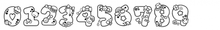 Omekashi Font Pro Font OTHER CHARS