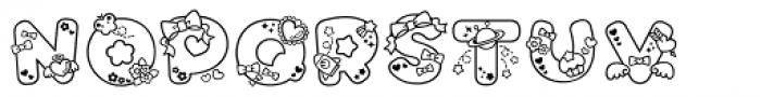 Omekashi Font Pro Font UPPERCASE