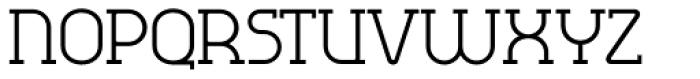 Omni Serif Light Font UPPERCASE
