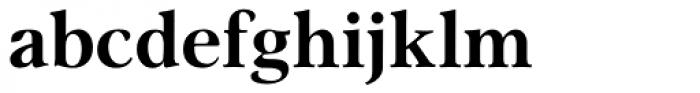 Omnibus Bold Font LOWERCASE