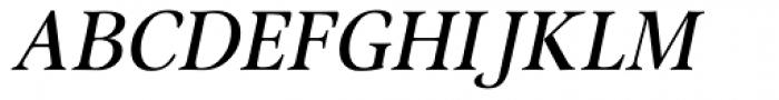 Omnibus Italic Font UPPERCASE