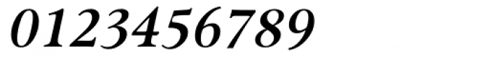 Omnibus SemiBold Italic Font OTHER CHARS