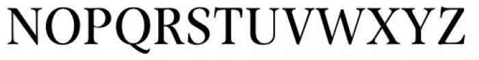 Omnibus Font UPPERCASE