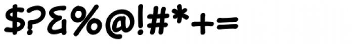 Omniscript Bold Font OTHER CHARS