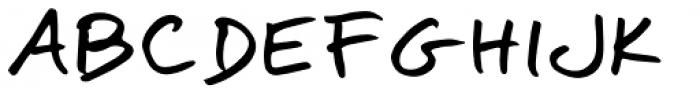 Omoshiroi Regular Font UPPERCASE