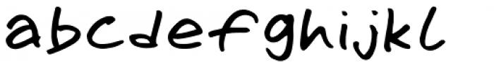 Omoshiroi Regular Font LOWERCASE