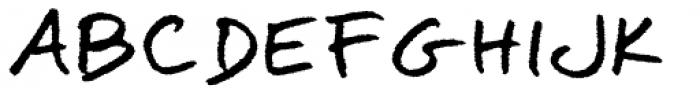 Omoshiroi Rougher Font UPPERCASE