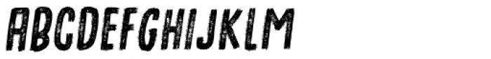 Omtanke Italic Font UPPERCASE