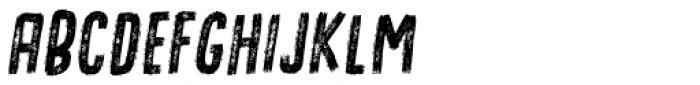 Omtanke Italic Font LOWERCASE
