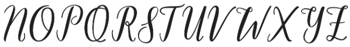 One Dance otf (100) Font UPPERCASE