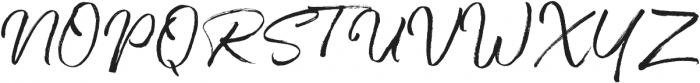 One Day otf (400) Font UPPERCASE