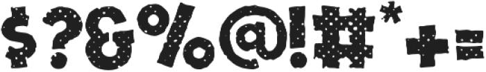 One Nine Nine Four Halftone otf (400) Font OTHER CHARS