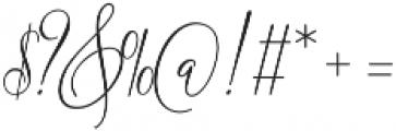 One luminous Regular ttf (400) Font OTHER CHARS