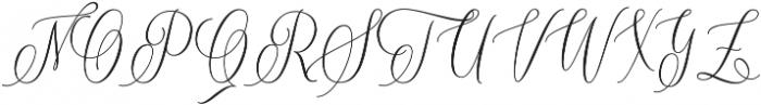 One luminous Regular ttf (400) Font UPPERCASE