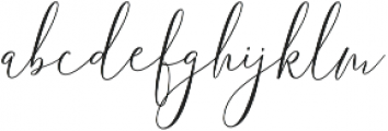 One luminous Regular ttf (400) Font LOWERCASE