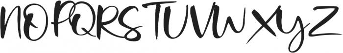 Onelove otf (400) Font UPPERCASE